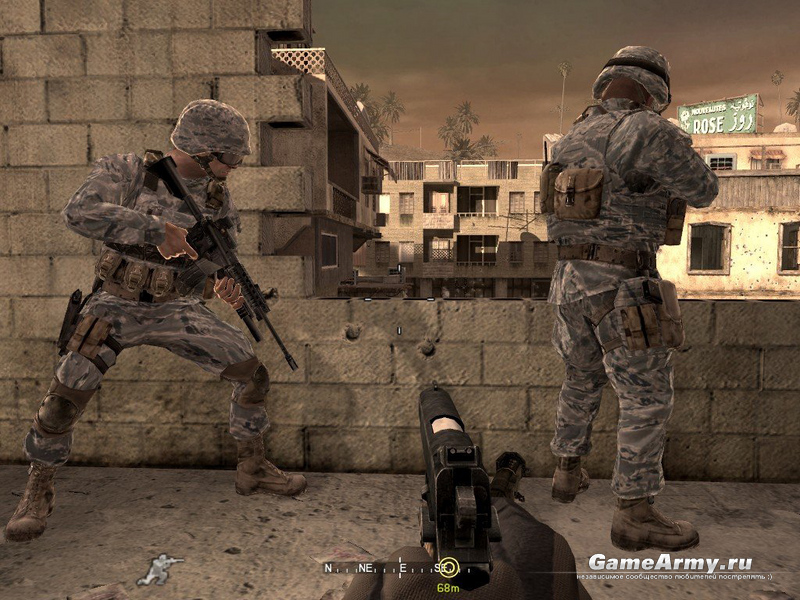 Модели для Call Of Duty 4 Player Marines Digital Tiger GameAr