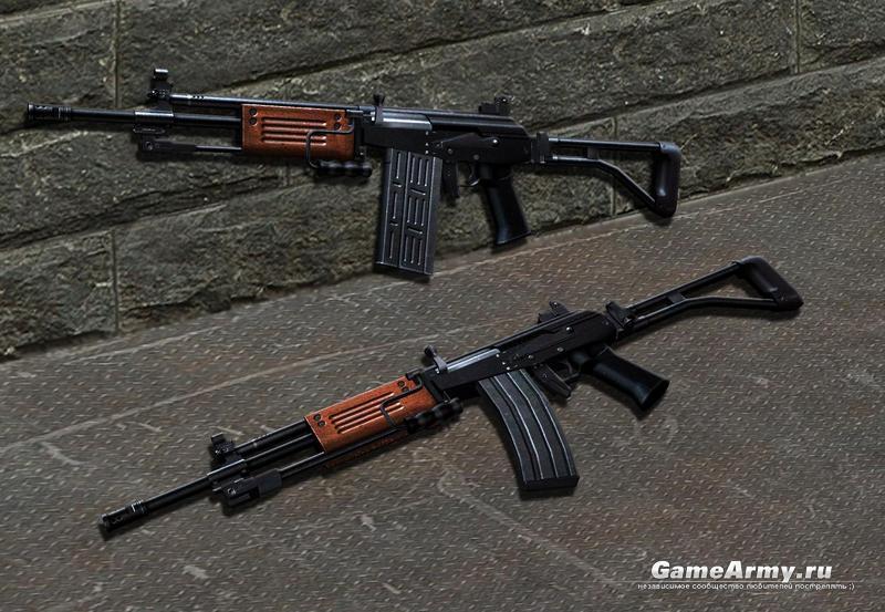 Модель оружия m4a1 для cs 16 - m4camo